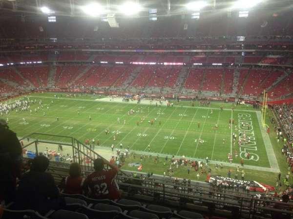 State Farm Stadium, section: 408, row: 6, seat: 10