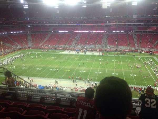 University of Phoenix Stadium, section: 410, row: 5, seat: 9