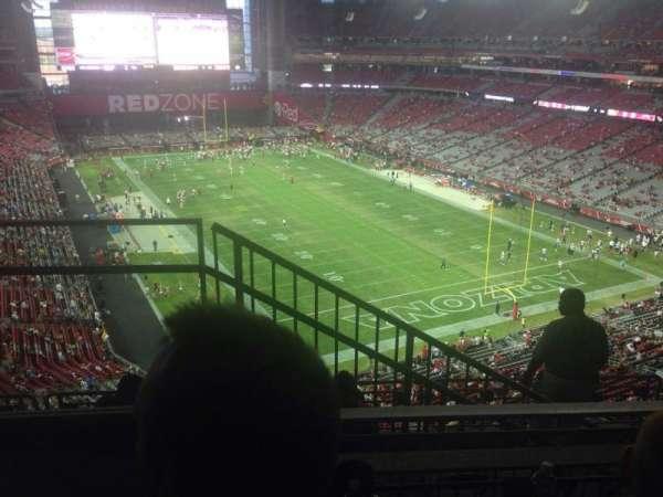 State Farm Stadium, section: 432, row: 2, seat: 9