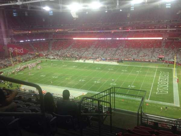 State Farm Stadium, section: 438, row: 6, seat: 13
