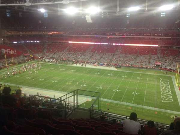 State Farm Stadium, section: 438, row: 7, seat: 13