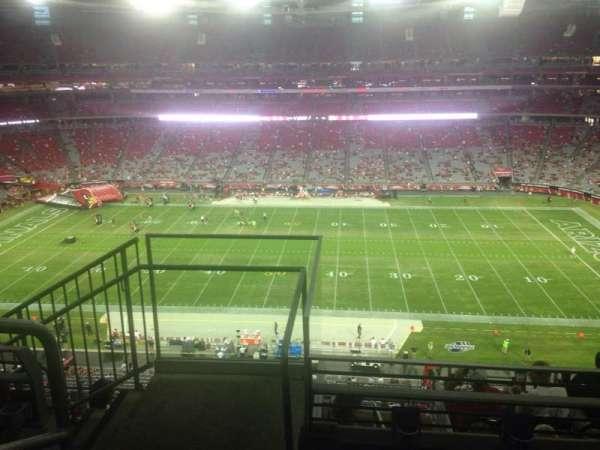 State Farm Stadium, section: 442, row: 3, seat: 18