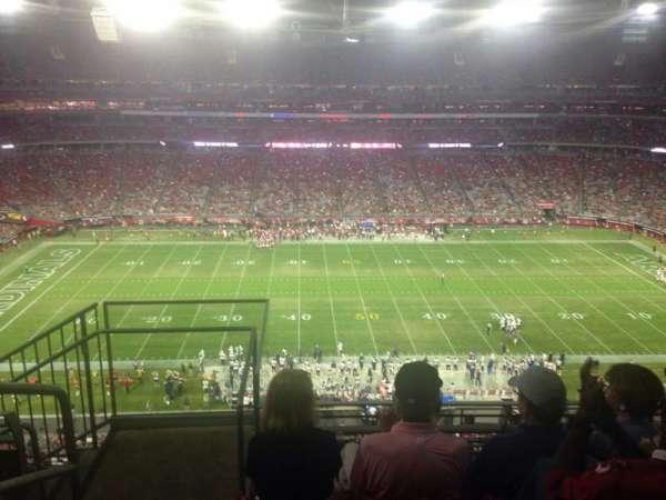 State Farm Stadium, section: 444, row: 4, seat: 18