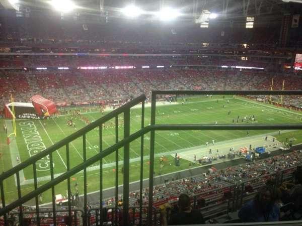 State Farm Stadium, section: 449, row: 1, seat: 13