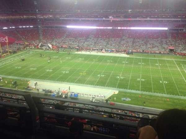 State Farm Stadium, section: 444, row: 1, seat: 1
