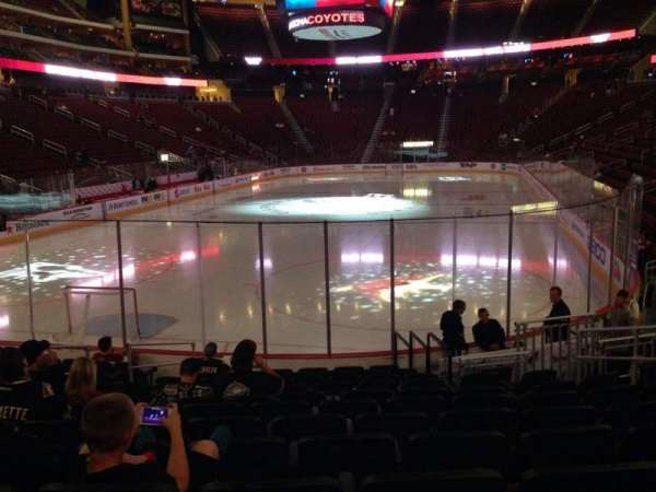 Gila River Arena, section: 116, row: L, seat: 9