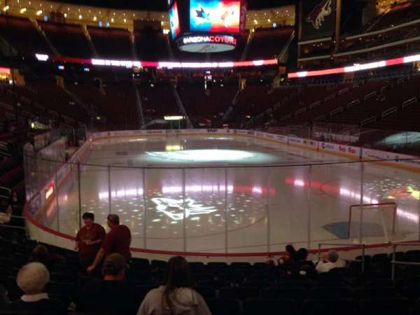 Gila River Arena, section: 118, row: L, seat: 9