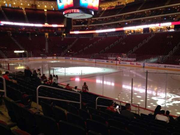 Gila River Arena, section: 120, row: L, seat: 9