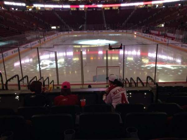 Gila River Arena, section: 106, row: L, seat: 9