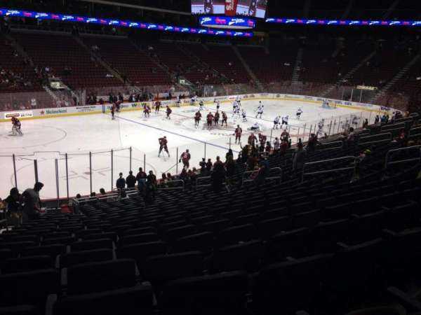 Gila River Arena, section: 114, row: T, seat: 22