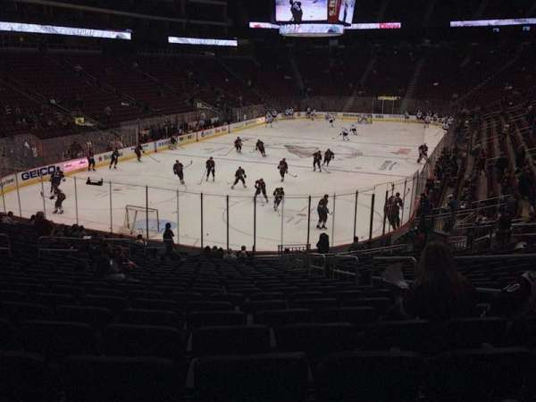 Gila River Arena, section: 116, row: T, seat: 5