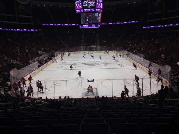 Gila River Arena, section: 117, row: T, seat: 5