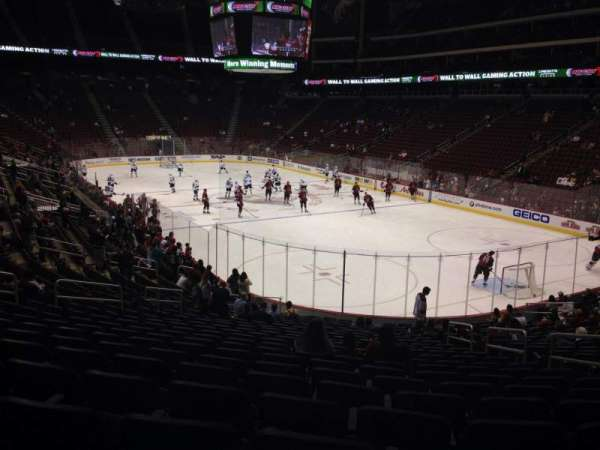 Gila River Arena, section: 119, row: T, seat: 5