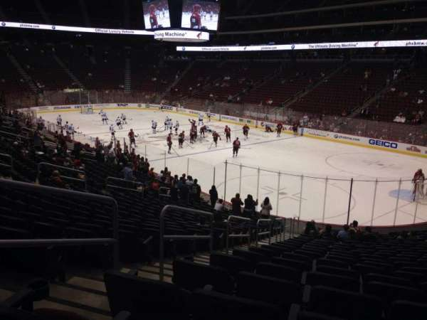Gila River Arena Section 119 Home Of