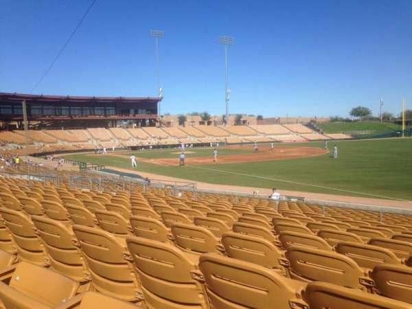 Camelback Ranch, section: 102, row: 10, seat: 1