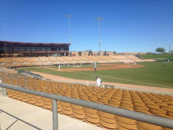 Camelback Ranch, section: 102, row: 1, seat: 3