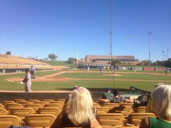 Camelback Ranch, section: 11, row: 8, seat: 5