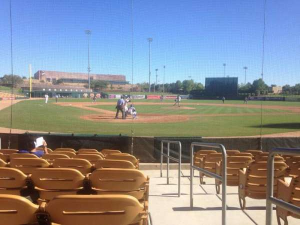 Camelback Ranch, section: 14, row: 8, seat: 1