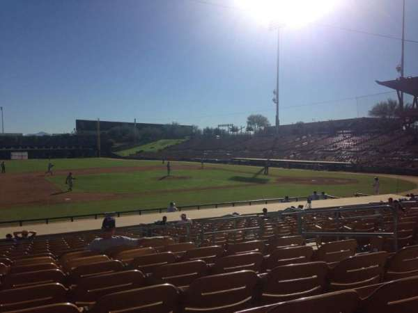 Camelback Ranch, section: 123, row: 9, seat: 6