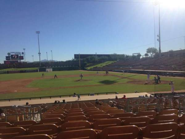 Camelback Ranch, section: 121, row: 9, seat: 5