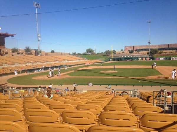 Camelback Ranch, section: 109, row: 12, seat: 2