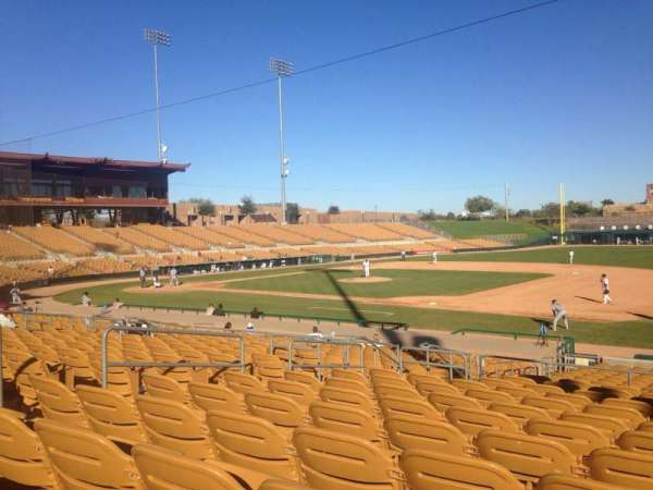 Camelback Ranch, section: 105, row: 12, seat: 9