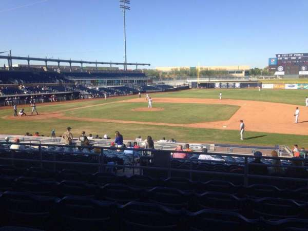 Peoria Sports Complex, section: 212, row: FF, seat: 13