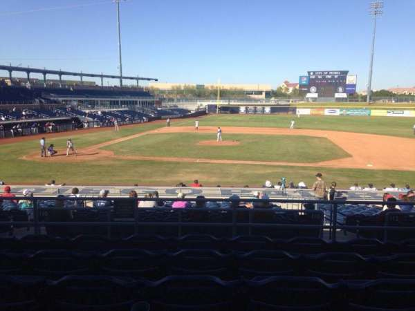 Peoria Sports Complex, section: 210, row: FF, seat: 13