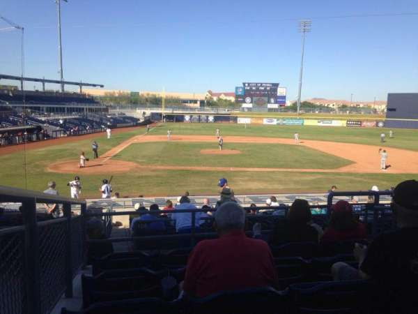 Peoria Sports Complex, section: 208, row: FF, seat: 12