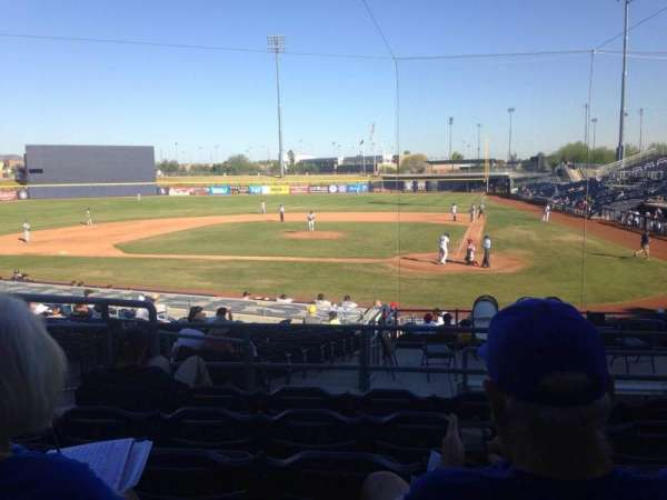 Peoria Sports Complex, section: 205, row: FF, seat: 7