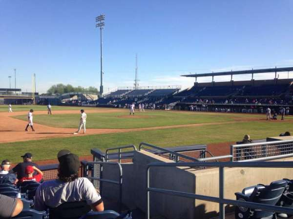 Peoria Sports Complex, section: 115, row: K, seat: 3