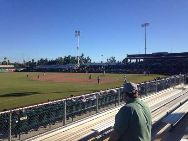 Scottsdale Stadium, section: G, row: 6, seat: 6