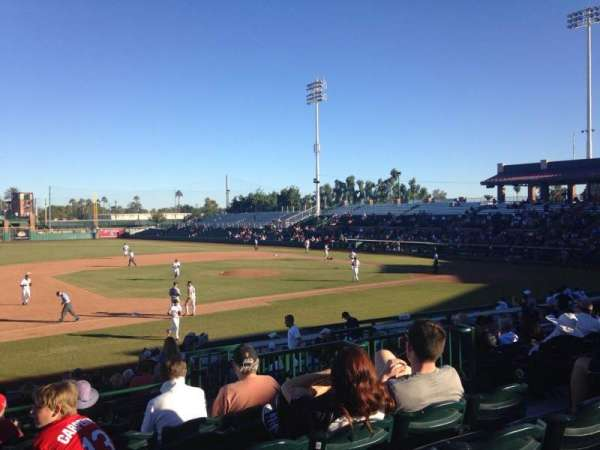 Scottsdale Stadium, section: 313, row: 2, seat: 7