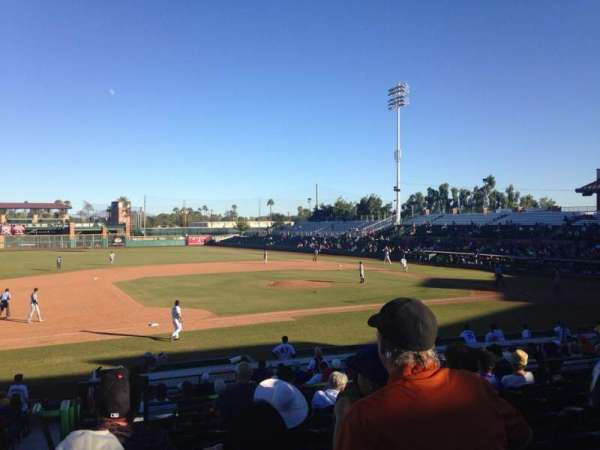 Scottsdale Stadium, section: 311, row: 2, seat: 25