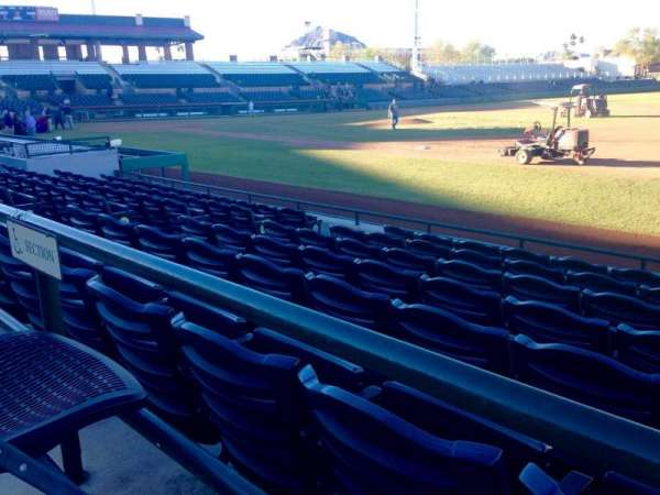 Scottsdale Stadium, section: 120, row: WC, seat: 3