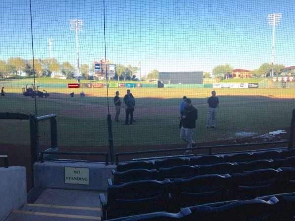 Scottsdale Stadium, section: 104, row: F, seat: 1