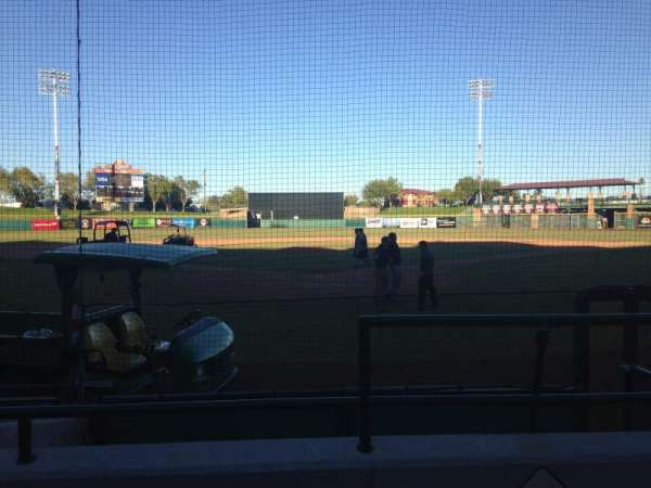 Scottsdale Stadium, section: 101, row: F, seat: 1
