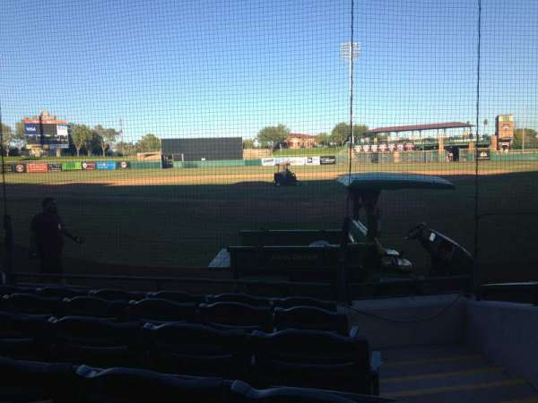 Scottsdale Stadium, section: 103, row: F, seat: 1