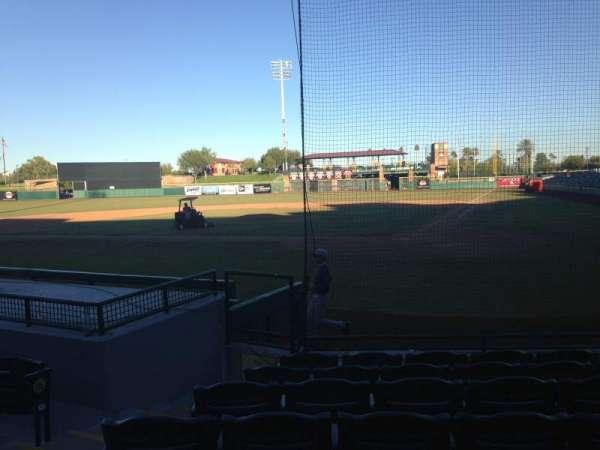 Scottsdale Stadium, section: 105, row: WC, seat: 3