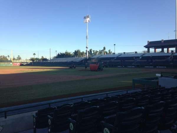 Scottsdale Stadium, section: 119, row: F, seat: 1