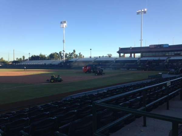 Scottsdale Stadium, section: 123, row: H, seat: 1