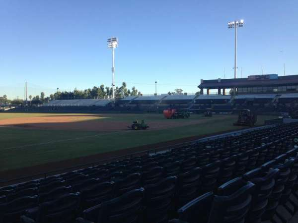 Scottsdale Stadium, section: 125, row: H, seat: 1