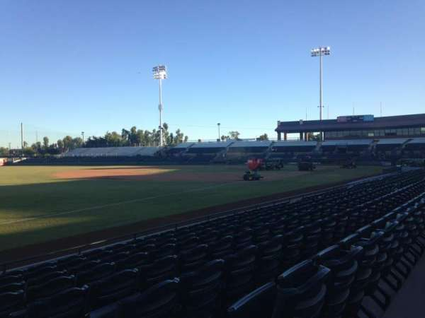 Scottsdale Stadium, section: 127, row: H, seat: 1