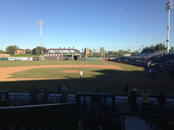 Scottsdale Stadium, section: 305, row: 1, seat: 1