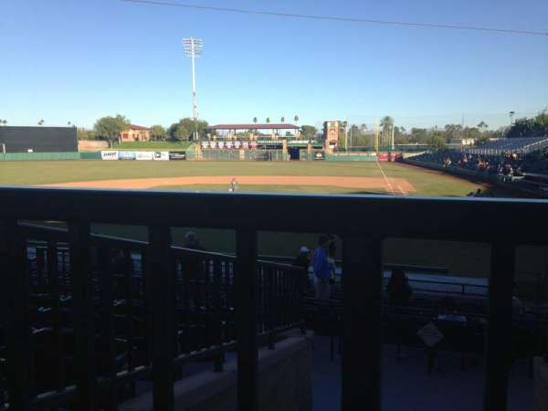 Scottsdale Stadium, section: 305, row: 1, seat: 14