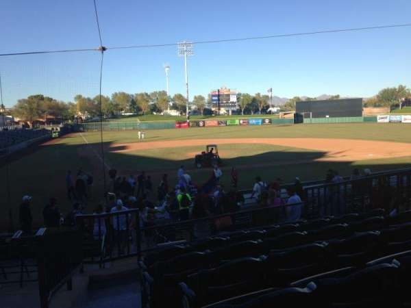 Scottsdale Stadium, section: 208, row: M, seat: 1