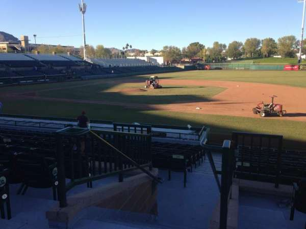 Scottsdale Stadium, section: 214, row: M, seat: 1