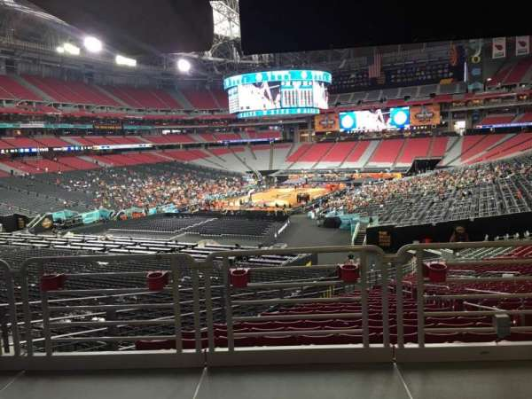 State Farm Stadium, section: 137, row: WC, seat: 19