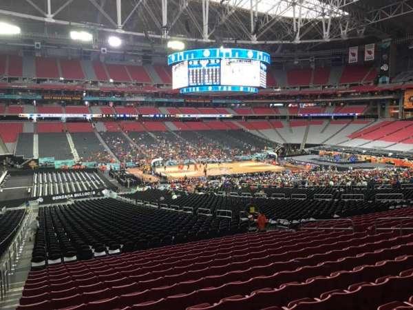 State Farm Stadium, section: 133, row: WC, seat: 12