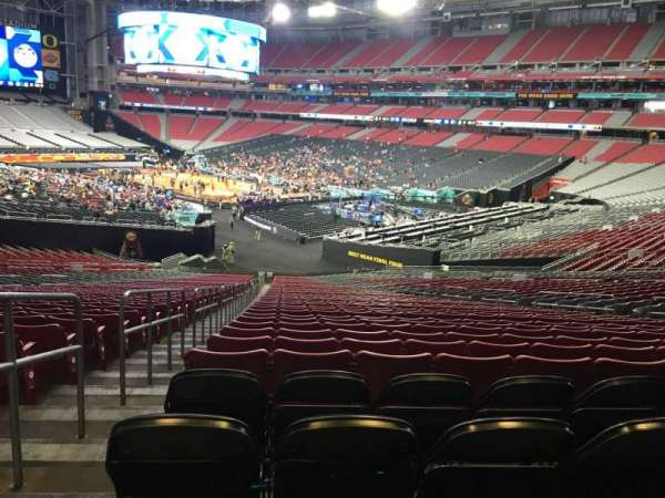 State Farm Stadium, section: 123, row: 44, seat: 36